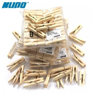 Kupo Wooden clip 48pcs pack(나무집게)